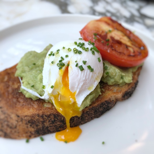 Smashed Avocado Toast $14