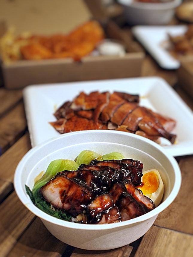 Char Siew Rice $8