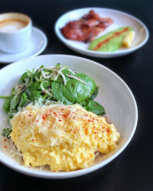Scrambled Eggs On Toast $10.8