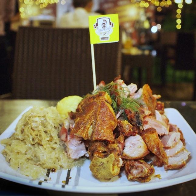 Crispy German Pork Knuckle $38