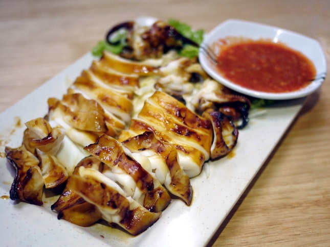 Grilled Squid $20