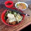 Chicken Nanban Don Set Lunch $12