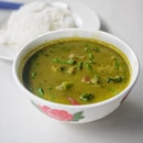 Green Curry w/ Rice $6