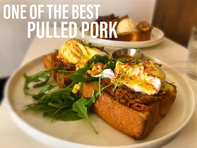 Pulled Pork Egg Benedict