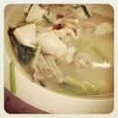 Salted Fish & Tofu Soup