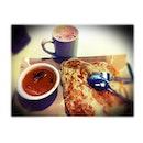 Plain Prata & Teh Tarik for #lunch