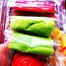 Multi-colored kueh-mueh