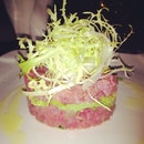 Tuna Tartare #7adam #restaurant #dinner #photoaday #instamood #shot #instagrammers #igsg #instagramsg #photo #iphonegraphy #mayphoto #foodie #foodporn #fusion #appetizer