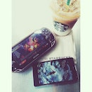 Chilling while having #starbucks before another round of physiotherapy.