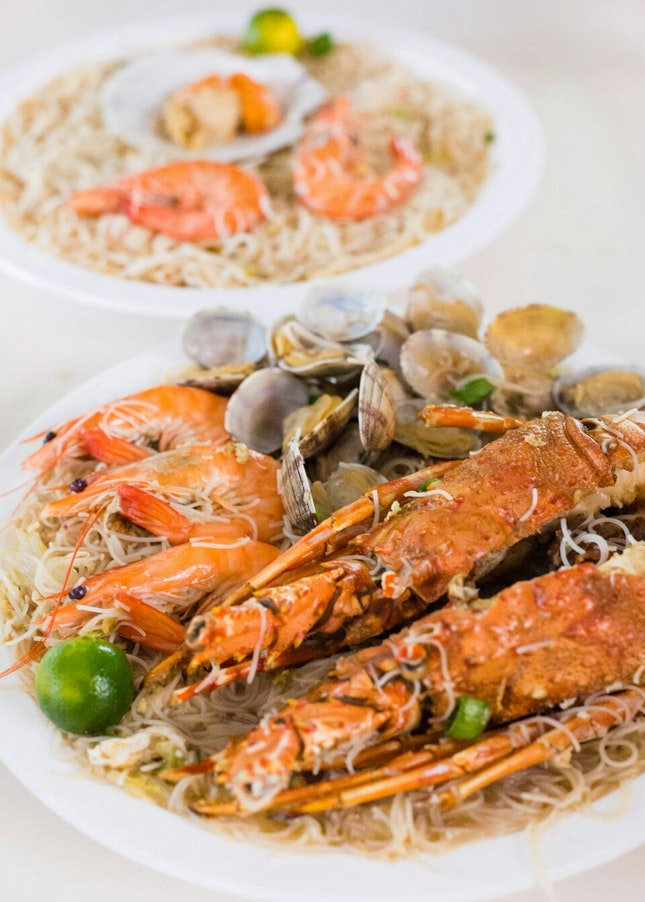 Delightful Seafood Beehoon that You'll Love