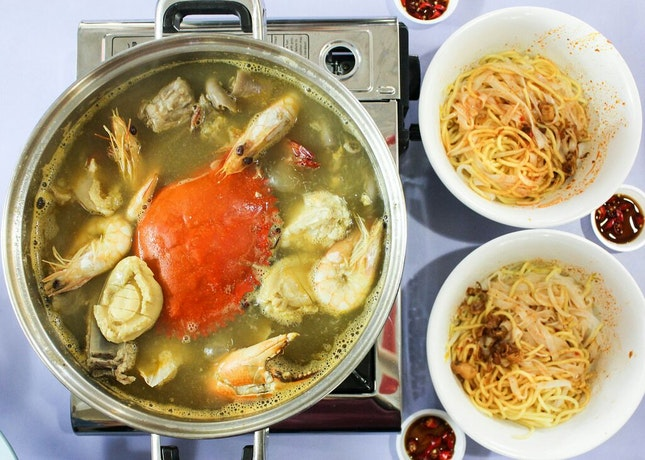 """Delicious Seafood Hotpot With A Lot of """"Liao"""""""