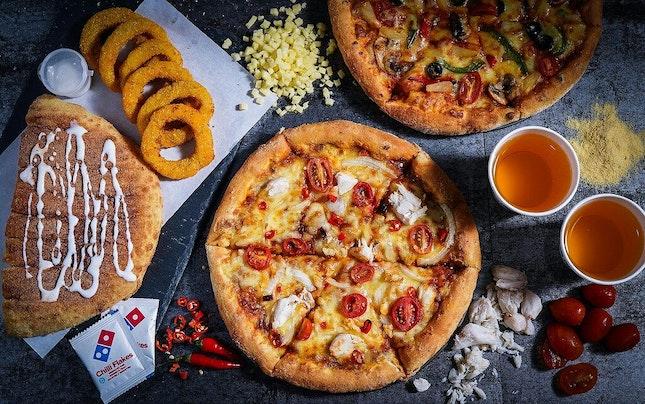 New Power Chilli Padi Crab Pizza Hits Town