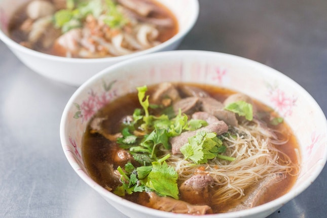 Hidden Find! Beef Noodles in a Thai Hotpot