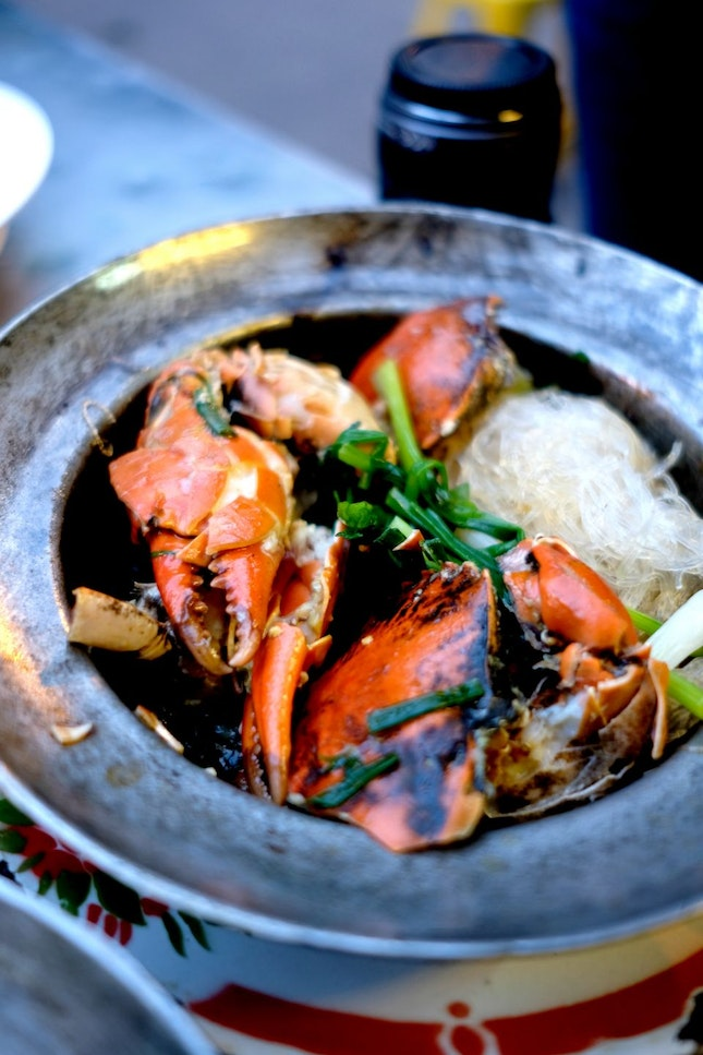 Amazing Crab with Glass Noodles