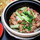 The East Village Branch has the Best Claypot Rice