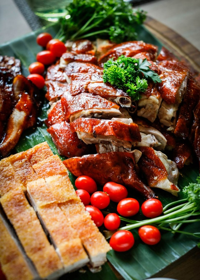 Bountiful CNY Buffet at Lime Restaurant, PARKROYAL on Pickering