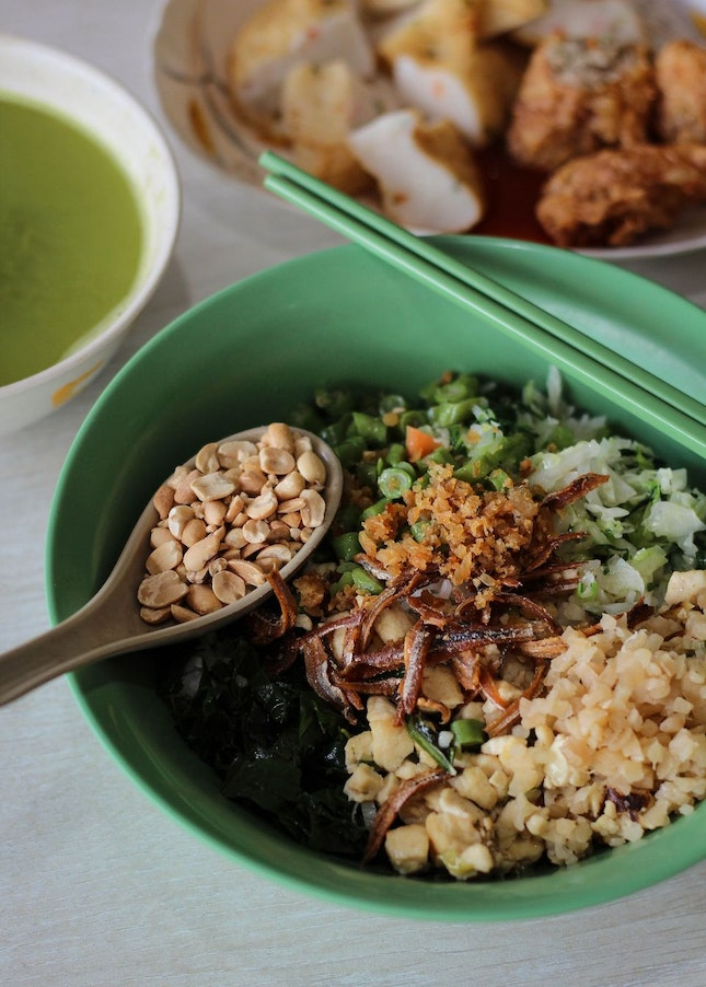 Healthy 擂茶 at Berseh Food Centre