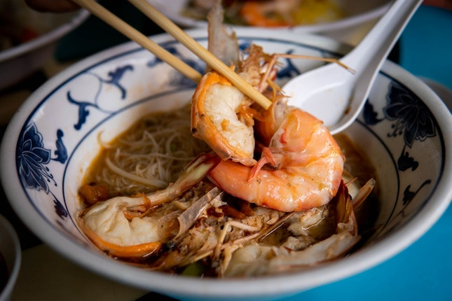Prawn Noodles that will have You Coming Back for More!