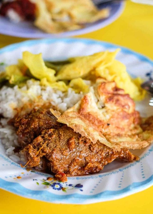Good Ol' Home-Style Nasi Lemak in Tanglin Halt