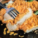 Awesome Hearty XXL Fried Chicken Cutlet