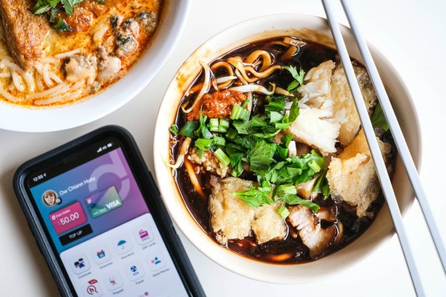 Enjoy $0.50 Cashback on Hawker Meals with Singtel Dash
