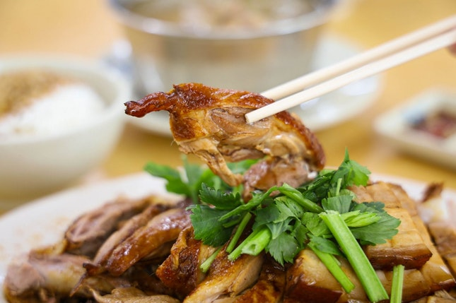 Traditional Braised Duck at Sin Ming Road
