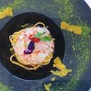 [ROBINSON RD] Lobster Tagliolini 😍 • #burpple #hungrygowhere #lobstertagliolini #pasta #italianfood #ristoranteamarone @ristorante_amarone
