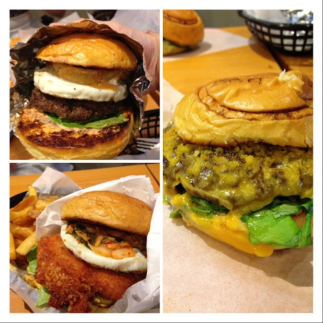 Jus tried out KGB burgers n its a must order for The Shack..
