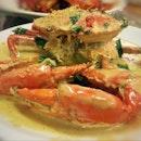 金沙螃蟹 Shimmering Golden Cream Crab