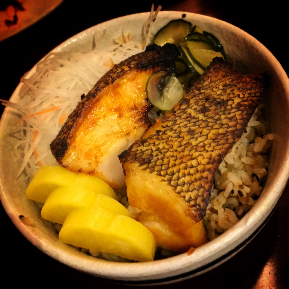 Grilled Mentaiko Cod Bowl