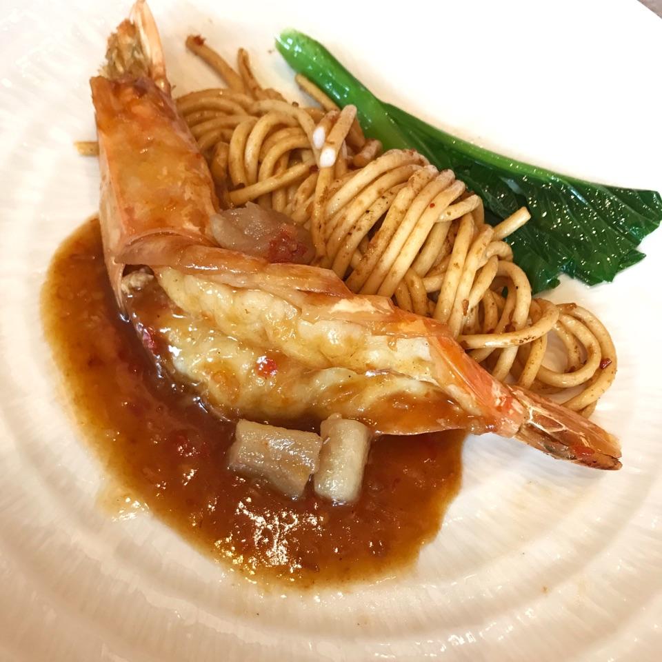 大蝦魚絨麵 Big Prawn Fish-Paste Noodle