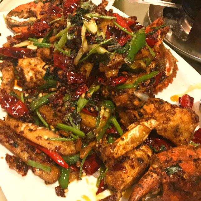 川香炒蟹 Sichuan Stir Fried Crab & Rice Cake