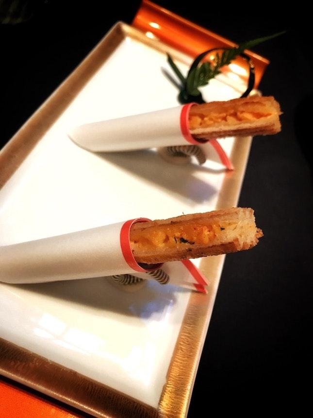 Uni & Lobster Breadstick