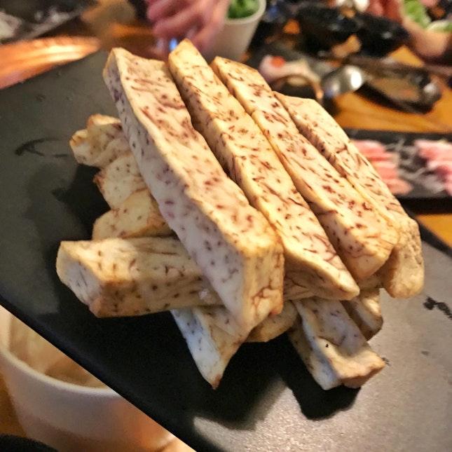 Taro (Yam) Sticks