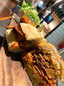 Beef Brisket Ciabatta Sandwich