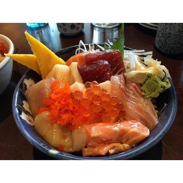 Satisfying Chirashi Don here.