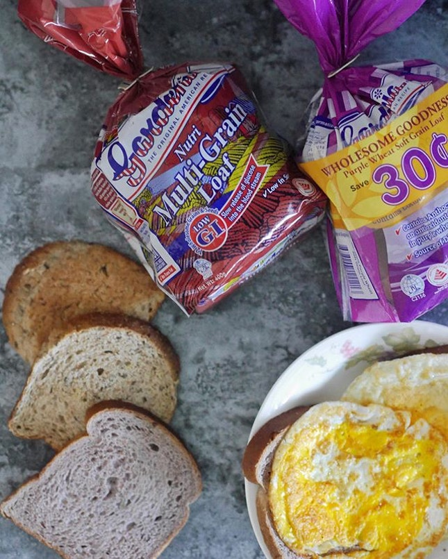 My breakfast almost everyday😂Anyone who knows me know that I love bread(carb) My parents will buy Gardenia bread to prepare breakfast for us.