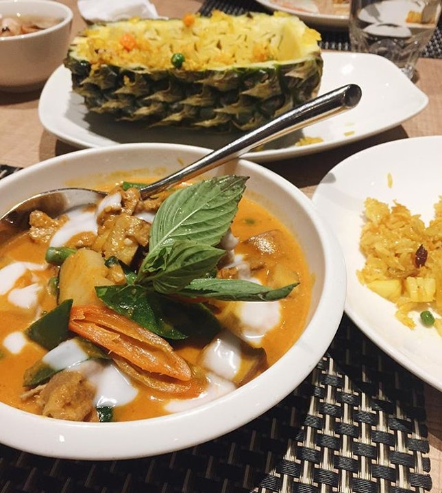 Gloomy days call for some tongue-scorching Thai food like this 😁 back here after a year, and the food is as good as I remembered!