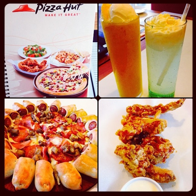 recommendation of pizza hut See 5 photos and 8 tips from 100 visitors to pizza hut pizza hut was great curtis gave the best customer serves , and recommendation as well thank you.
