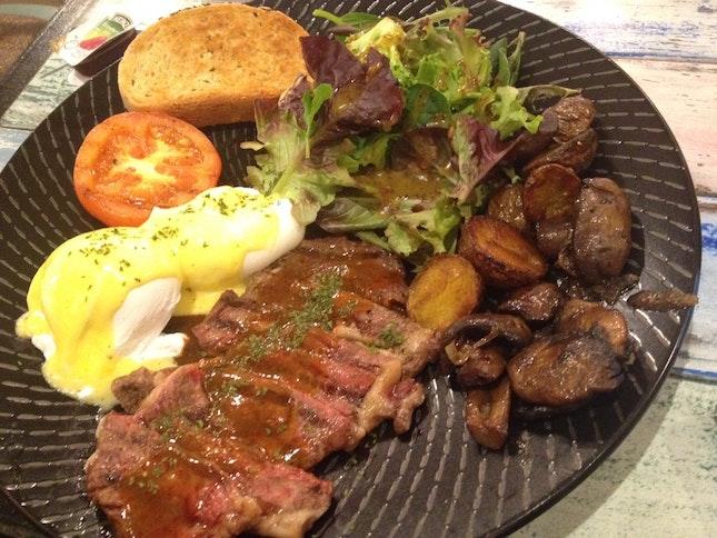 Steak As Egg