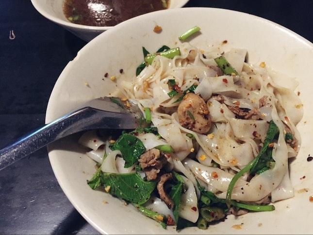 Thai Boat Noodles (dry)