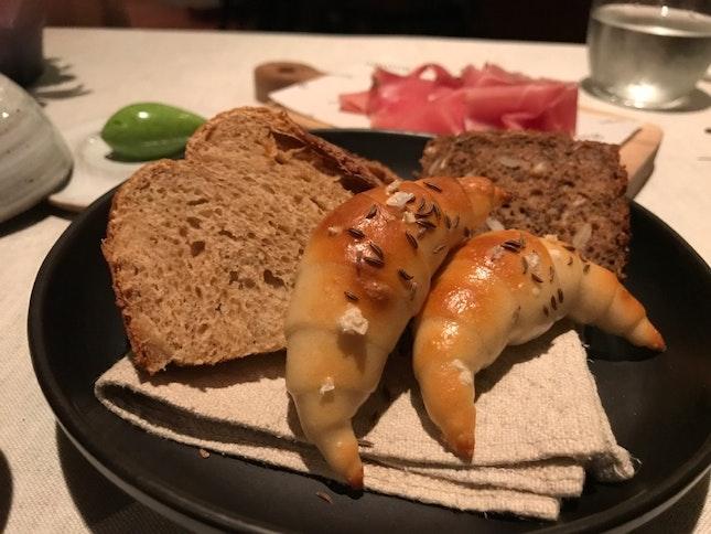 Beautiful Bread Platter