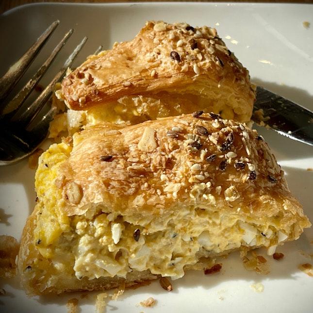 Egg Mayo Multigrain Croissant