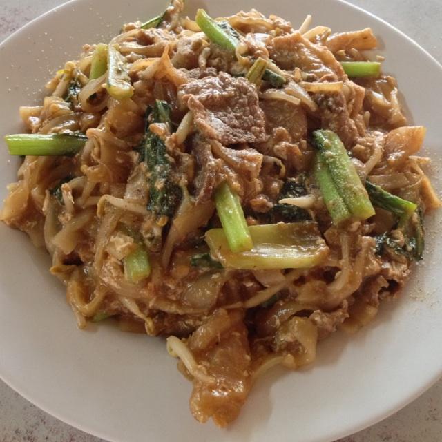 Beef Char Kway Teaw