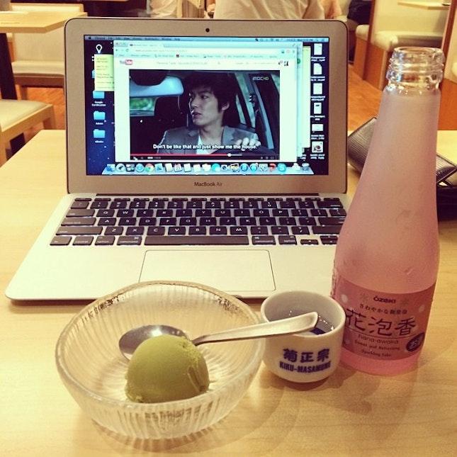 Thanks for dinner, Min Ho!