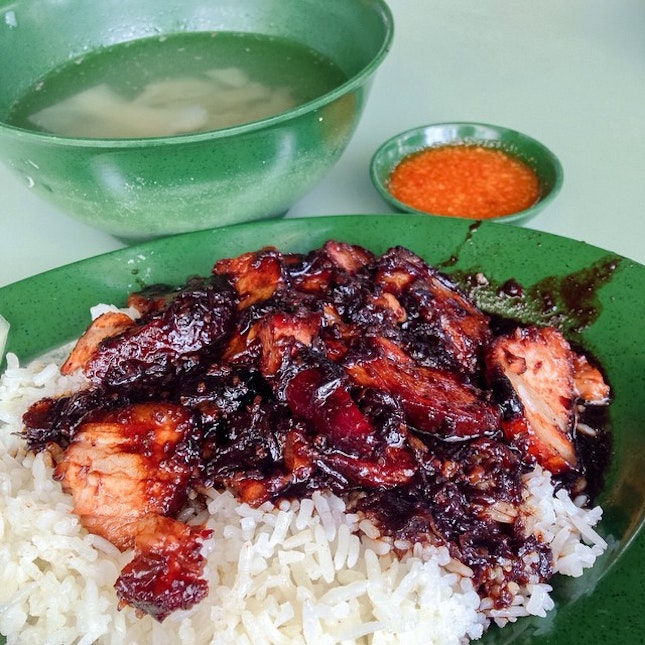 Back for this comfort dish again… Char Siew rice.