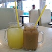 3 Aug 2014 - Thai Iced Milk Tea and Lime Juice #foodie #sg #Singapore