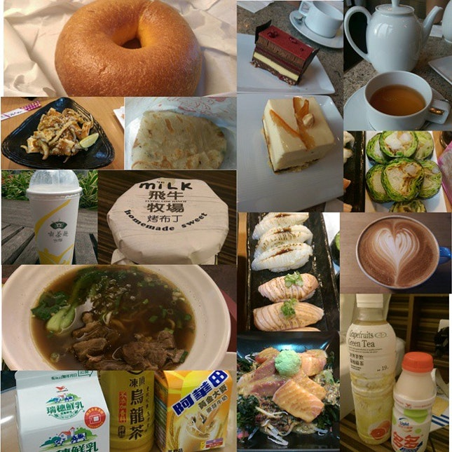 21 August 2014 - What I ate from morning till night on my first day in Taipei!!!