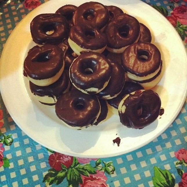 Sweets for the day #donuts