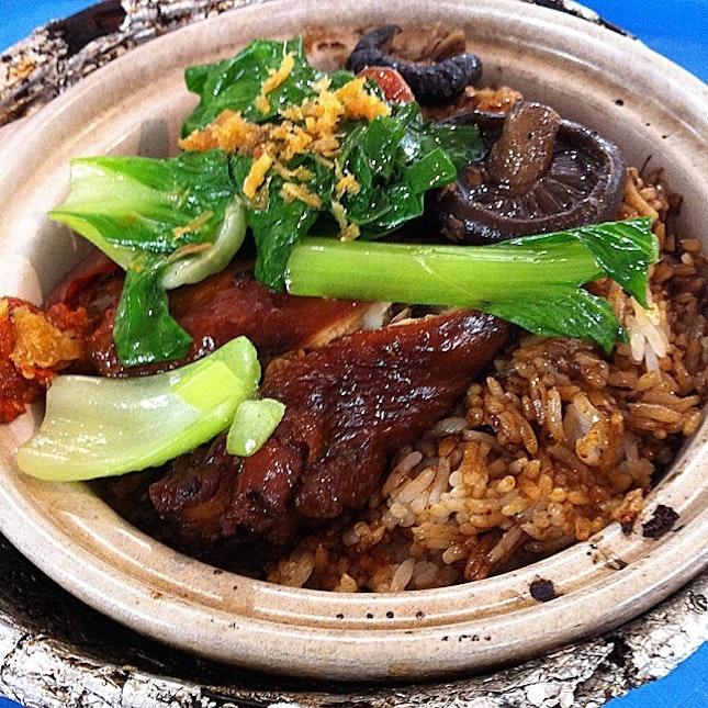Crispy burnt claypot rice #lunch #onthetable